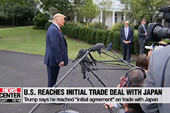 Trump says US-Japan trade deals reached