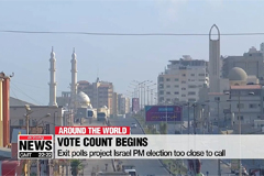 Exit polls project Israel PM election too close to call