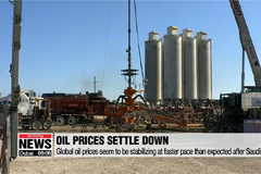 Global oil prices stabilizing at faster pace than expected after Saudi attack