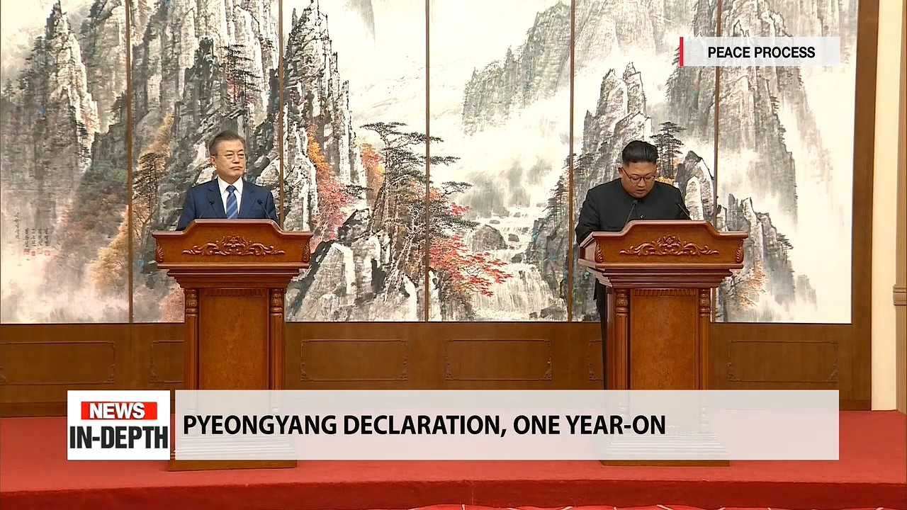 Pyeongyang Declaration, one year-on