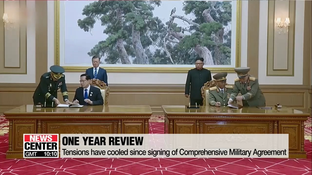 Inter-Korean Comprehensive Military Agreement: One year on