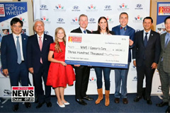 Hyundai Motor America holds charity event in Washington to help American kids with cancer