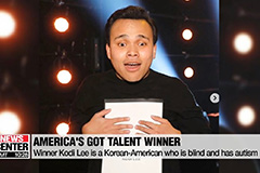 Blind and autistic Korean-American Kodi Lee wins America's Got Talent