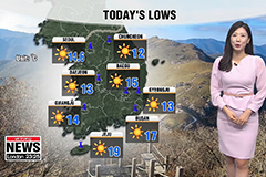 Chillier morning, big rise in temperatures