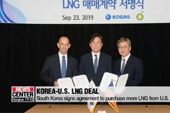 South Korea signs agreement to purchase more LNG from U.S.