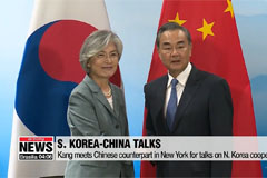 Seoul's FM Kang meets Chinese