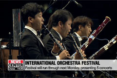 Suncheonman International Orchestra Festival kicks off in Jellonam-do Province