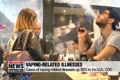 Cases of vaping-related illnesses up 52% in the U.S.: CDC