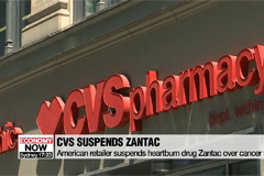 CVS suspends heartburn drug Zantac over cancer fears