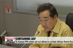 S. Korean PM calls for thorough efforts to tackle ASF, prepare for Typhoon Mitag