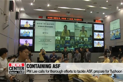 PM Lee calls for thorough efforts to tackle ASF, prepare for Typhoon Mitag