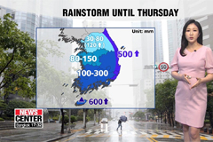 Heavy rain alerts issued, nationwide rain expected