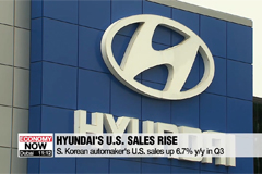 Hyundai Motor posted on-year sales growth of 6.7% in United States in Q3