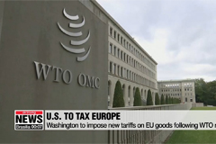 U.S. to impose new tariffs on EU goods following WTO ruling