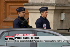 Four people killed at Paris police headquarters; motive unknown