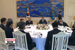 Moon to hold closed-door lunch meeting with leaders of major economic organizations