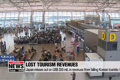 Japan misses out on US$ 300 mil. in revenues from falling Korean tourists: Report