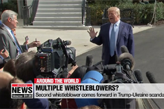 Second whistleblower comes forward in Trump-Ukraine scandal