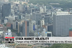 S. Korean stock markets see more volatility in 2019 due to bio, 5G industries