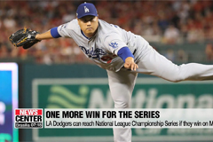 Ryu Hyun-jin helps LA Dodgers win National League Division Series Game 3 against Washington Nationals