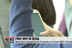 Seoul city to expand free Wi