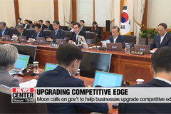 Moon praises gov't and businesses for coping with Japan's trade restrictions