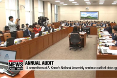 14 committees at S. Korea's National Assembly continue audit of state agencies