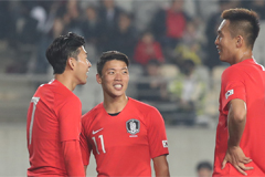S. Korea thrashes Sri Lanka 8-0 during WC Qualifier
