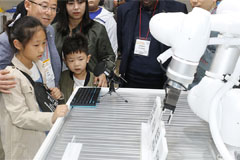 2019 Robot World Exhibition taking place at Kintex