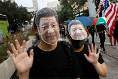 Xi warns attempts to divide Ch