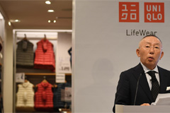 Uniqlo CEO criticizes Japan fo
