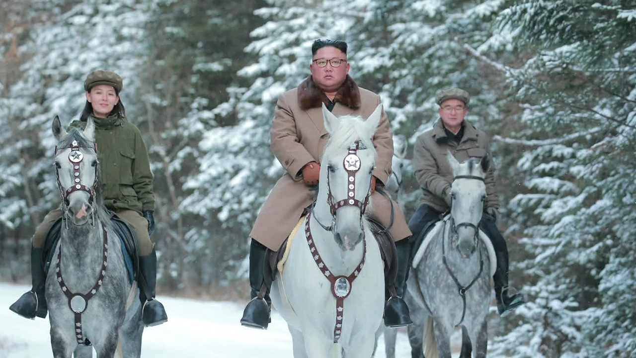 Foreign media outlets analyze Kim Jong-un's trip to Baekdusan Mountain