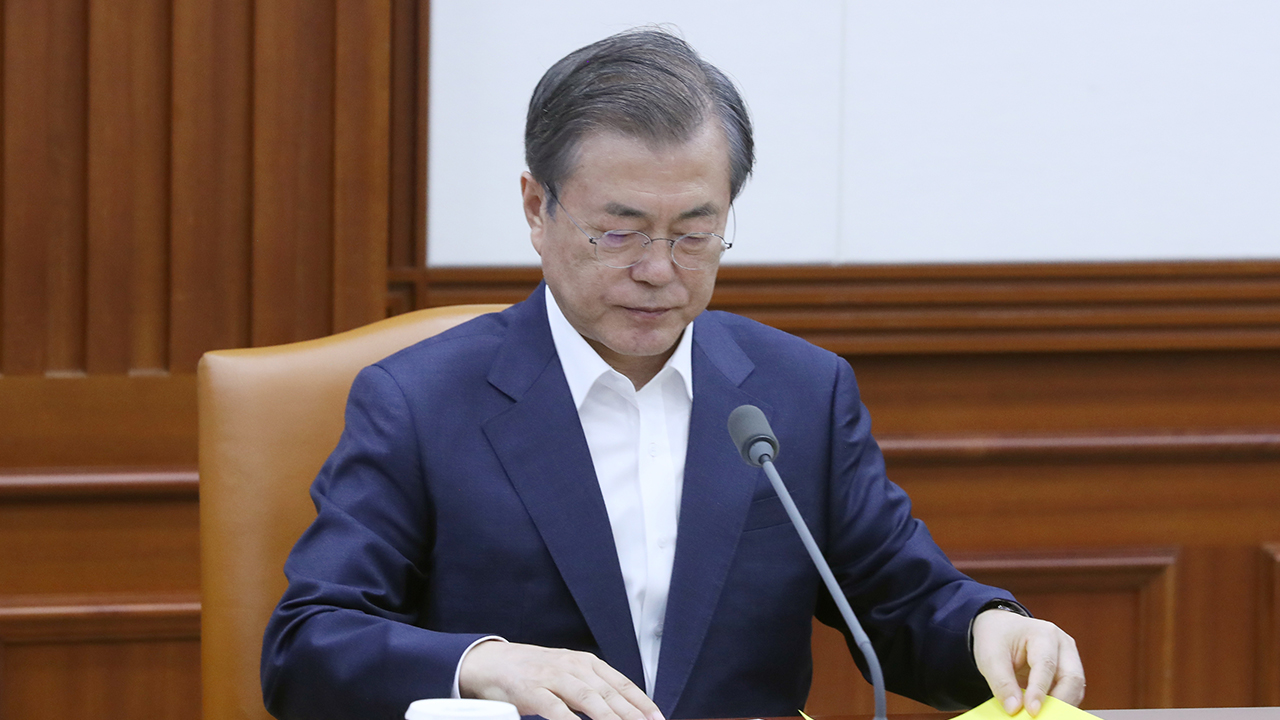 President Moon invites foreign diplomats based in Seoul to Blue House