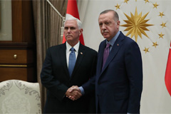 U.S., Turkey agree ceasefire in northeast Syria: Pence