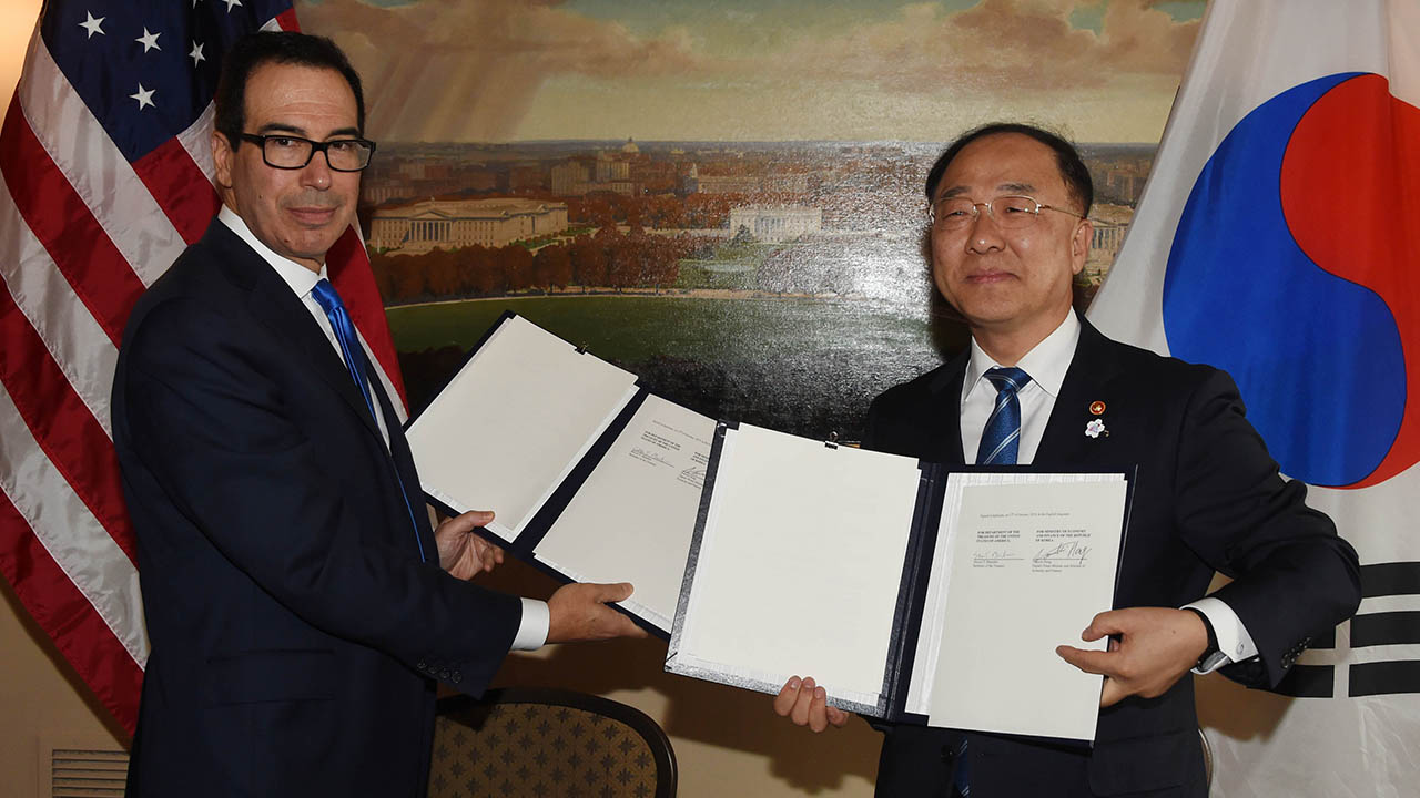 S. Korea and U.S. sign MOU to strengthen infrastructure finance