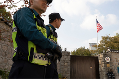 Seoul beefs up security around U.S. ambassador's residence after activists' break-in