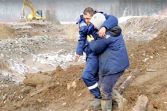Dam collapses at Siberian gold mine, killing at least 15 people