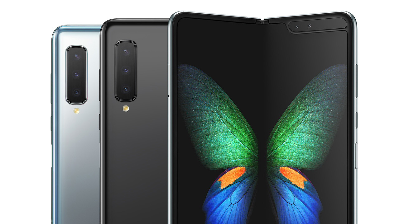 Samsung's Galaxy Fold 5G can be bought online and offline from Monday