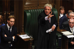 Speaker John Bercow denies Boris Johnson second vote on Brexit deal