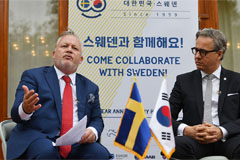 Sweden will invite N. Korea, U.S. to negotiating table again: Harstedt