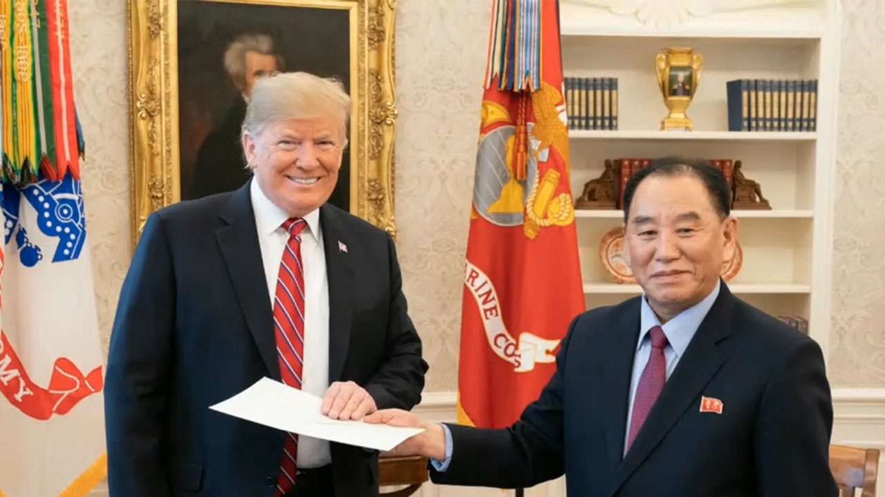 Kim Jong-un's letter to Trump says that his father said never to give up nuclear weapons
