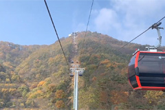 Autumn beauty peaks in the city of Jecheon