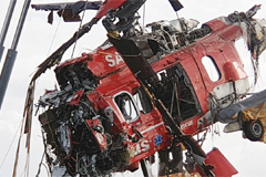 Two bodies confirmed to be vice-captain, mechanic of helicopter that crashed near Dokdo