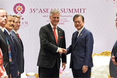 President Moon urges U.S. for need for patience with N. Korea