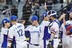 S. Korean baseball team clinch 3rd win at WBSC Premier12, heading to Super Round