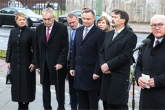 German Chancellor calls for protection of freedom, human dignity, democracy on 30th anniversary of Berlin Wall collapse