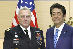 U.S. military chief voices hope for resolution of Seoul-Tokyo intel-sharing pact