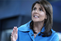 Fmr. U.S. ambassador to UN Nikki Haley claims Trump posed as 'madman' to put sanctions on N. Korea