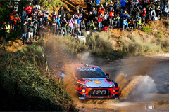 Hyundai Motorsport secures World Rally Championship manufacturer's title for first time