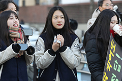 2020 college entrance exam starts under cold wave